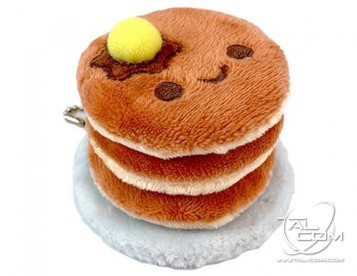 Pancakes Plush Key Chain Charm