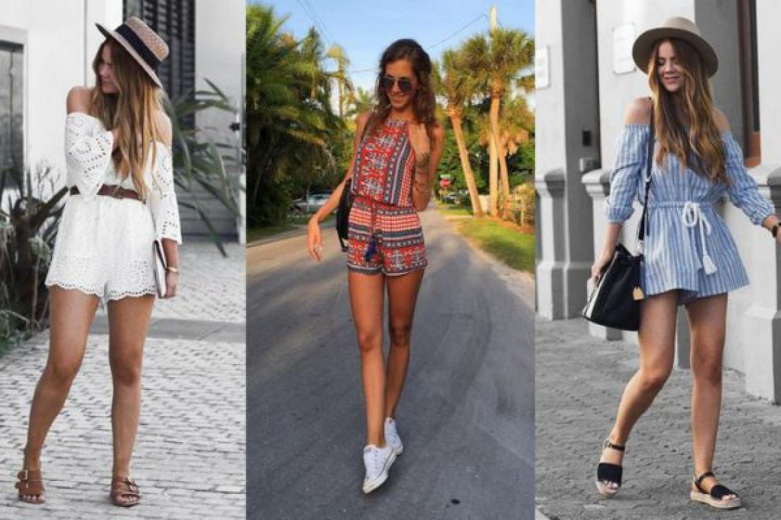 Cool Ways to Wear Rompers and Jumpsuits