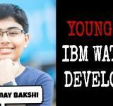 Meet Tanmay Bakshi,who  started coding at age 5, becomes the world's youngest programmer at IBM and now is an AI expert