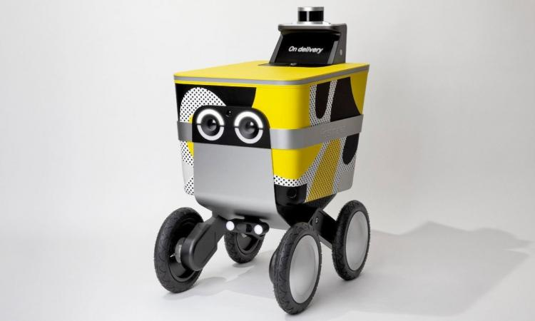 Postmates will test delivery robots on San Francisco sidewalks