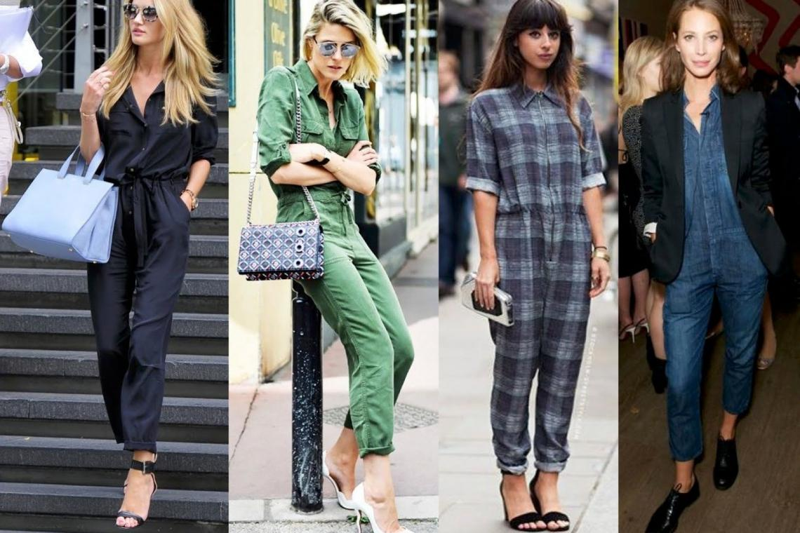 3 BOILER SUITS AS SEEN ON CELEBRITIES