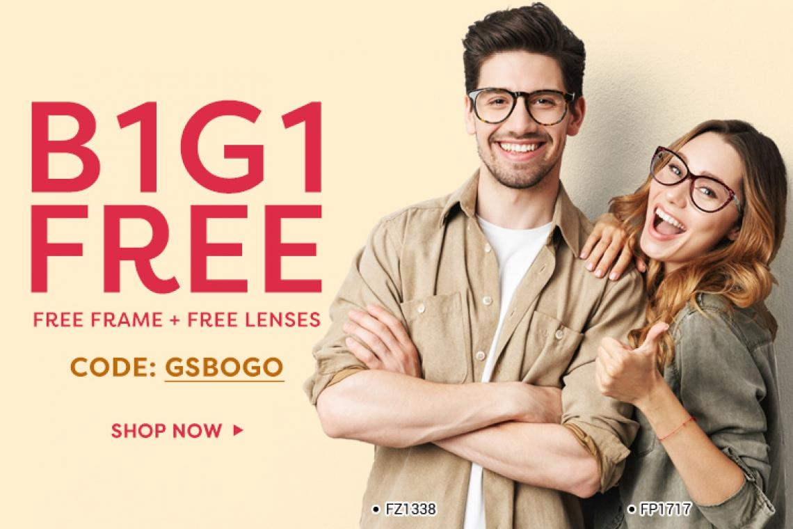 Designer Glasses and Frames: Get Your First Pair Free