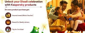 Unlock Your Diwali Offer Now with Kaspersky