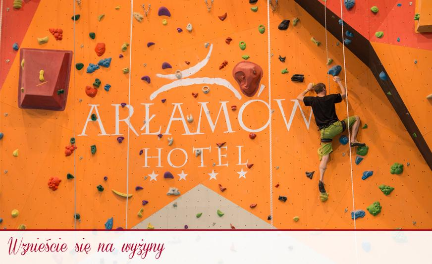 climb the highlands hotel arlamów 3c