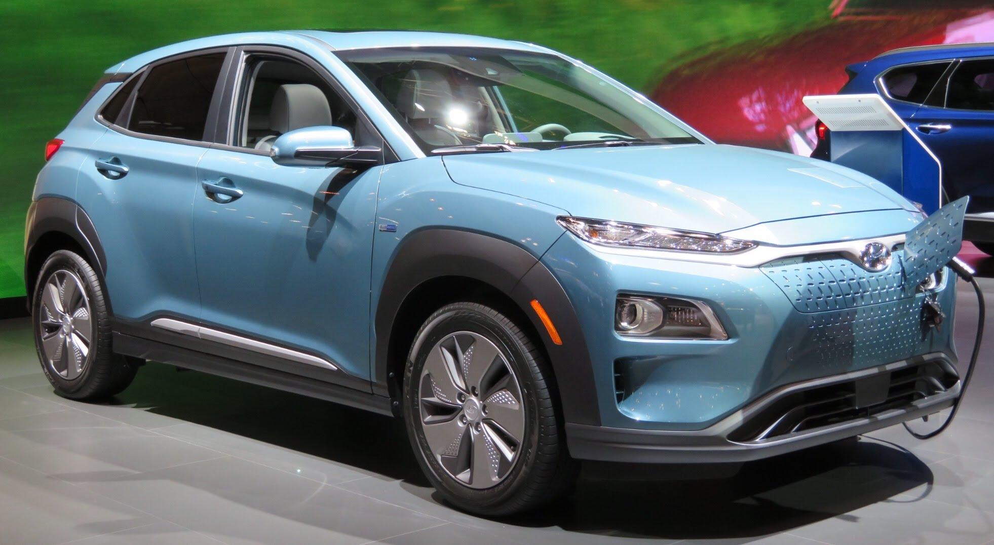 Hyundai Kona Electric front charging 4.2.18