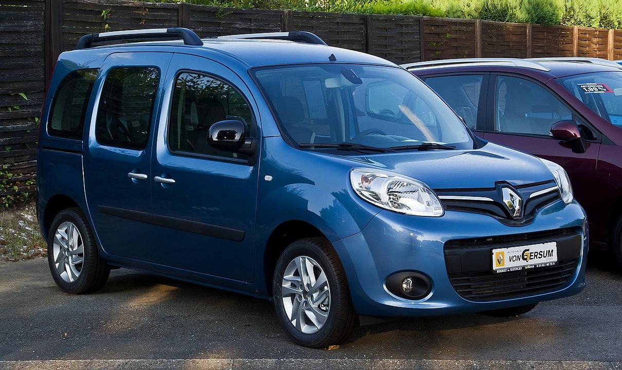 Renault Kangoo Paris 105 II Facelift Frontansicht 10. August 2013 Ratingemale
