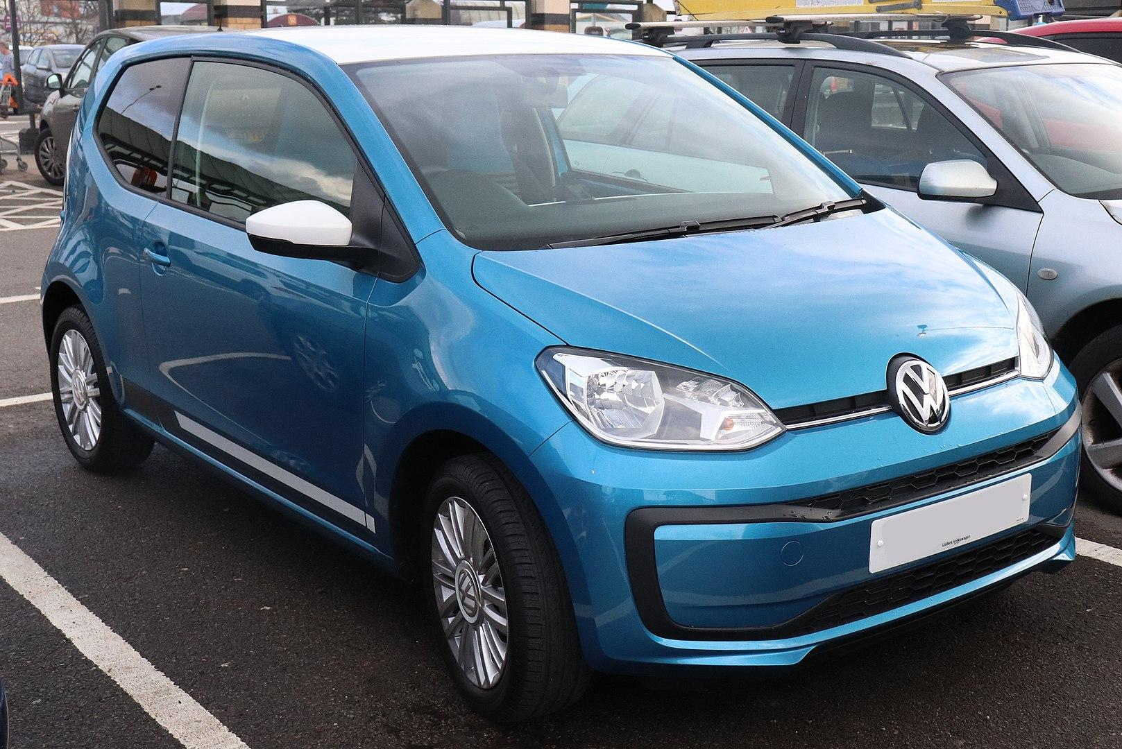 Volkswagen Move Up facelift 1.0 Front